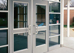 Store Front Doors, Closers, Hardware and Locks