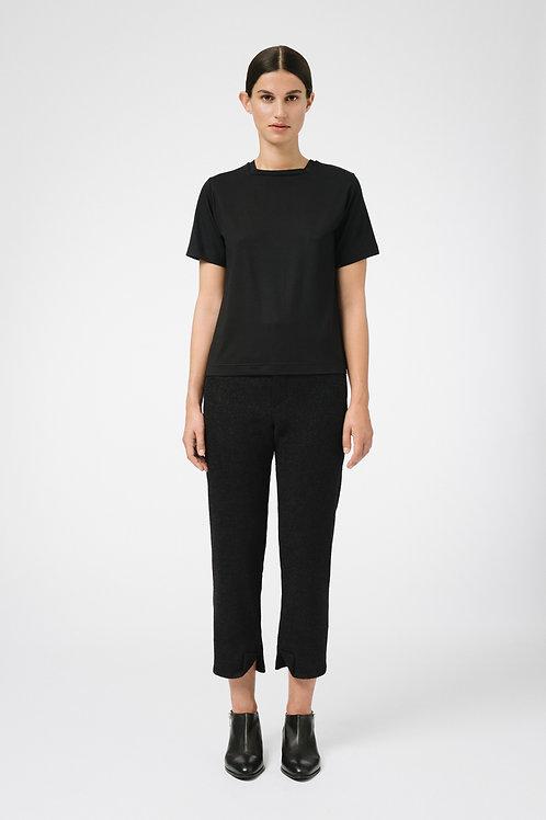 Black square neck T-Shirt