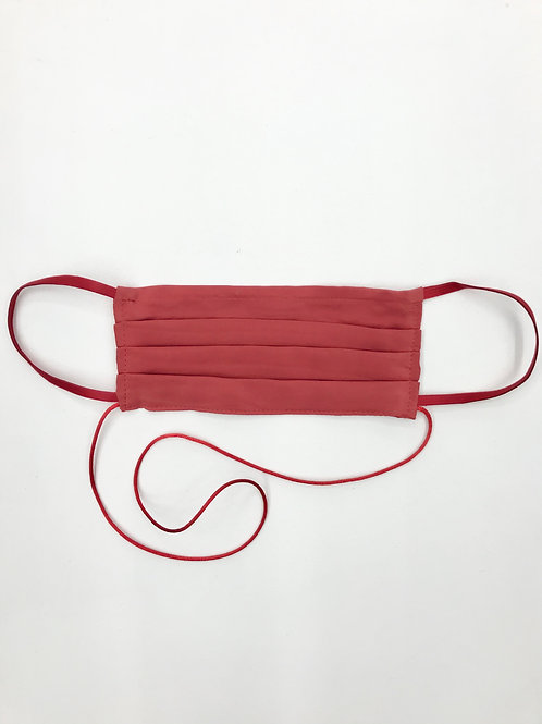 Light Pleat Mask Red