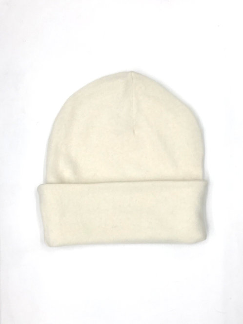 Beanie Mask Cotton White