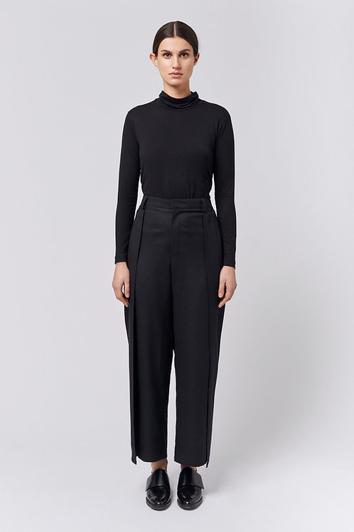 Wool layered Trousers