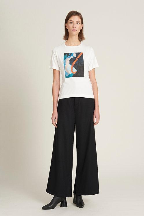 Slit Wool Trousers