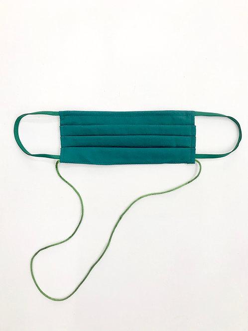 Light Pleat Mask Green