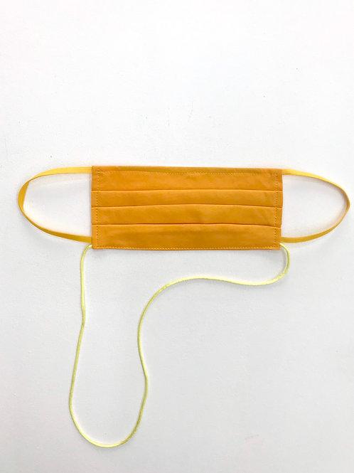 Light Pleat Mask Yellow