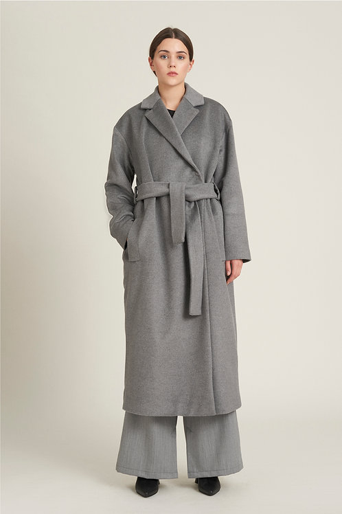 Padded Wool Coat