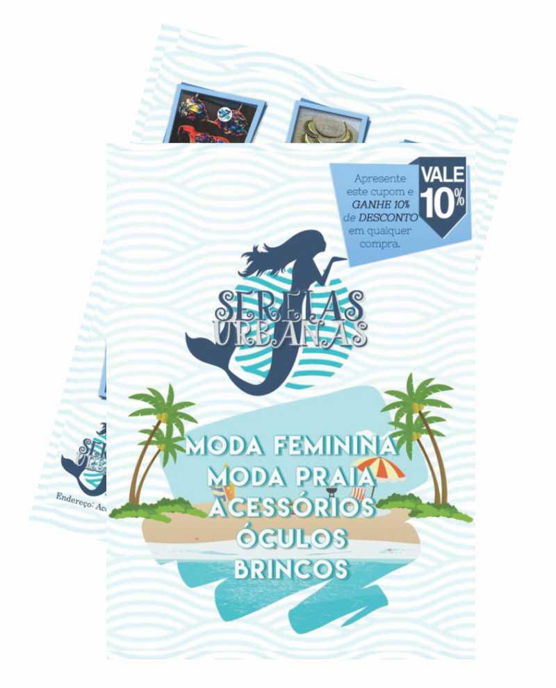 Sereia Urbanas_10x14cm - 4x4 - 90g