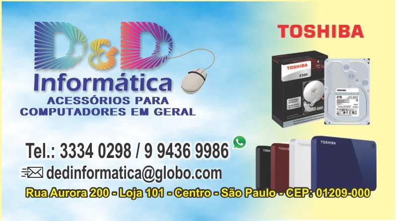 DeD Informática - CV 240g - 4x0