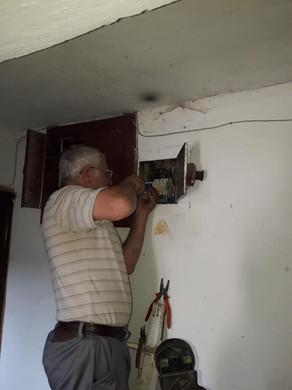 Електромонтерами ТОВ УК «Корабельний» був виконаний ремонт електрообладнання в житловому будинку за адресою: провулок 1-й Молодіжний,4 3.jpg