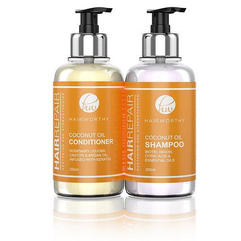 HAIRREPAIR SHAMPOO & CONDITIONER SET