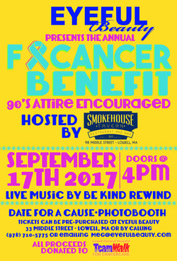 Benefit flyer for non profit