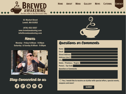Website Design Contact Page