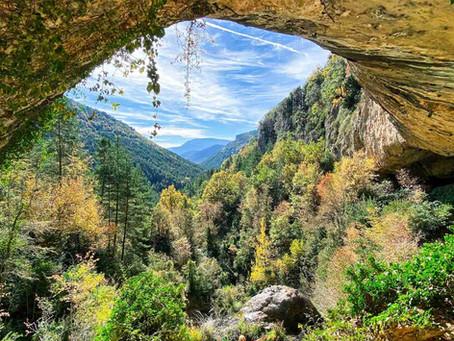 Cueva y cascada de Azanzorea
