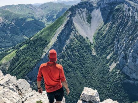 Peña Ezkaurre (2.045 m) desde Collado de Argibiela