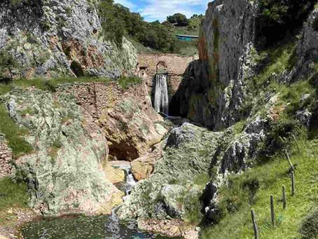 Cascada de Salinas de Oro