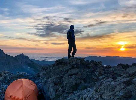 Mesa de los Tres Reyes (2.428 m) desde Refugio de Belagua