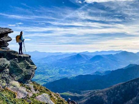Crestas de Iparla desde Alto de Izpegi