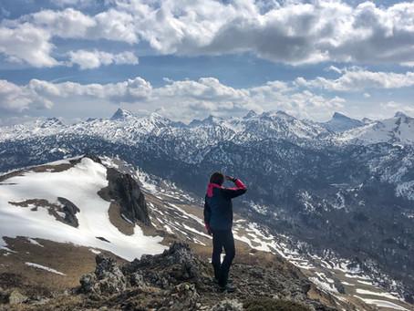 Vértice de Lakora o Lakora Sur (1.835 m) desde Portillo de Erraitze