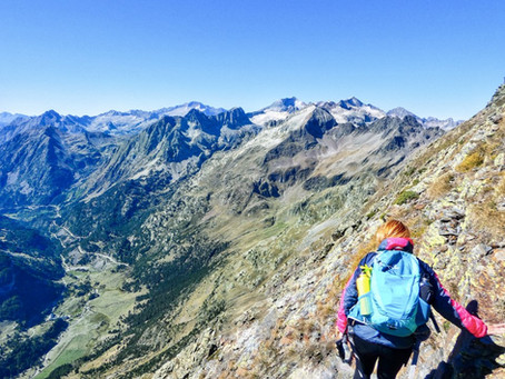 Pico Salvaguardia (2.736 m) desde La Besurta