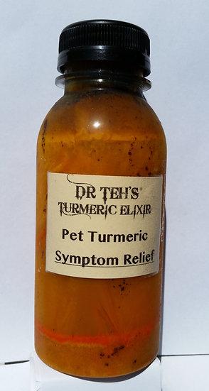 Small Pet Symptom Relief Turmeric Liquid 50ml (GST inc)