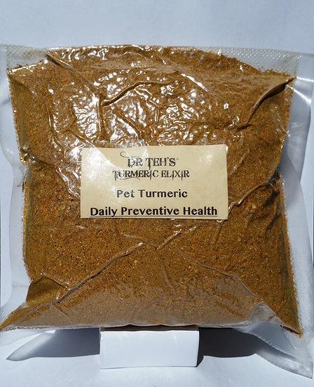 Large Pet Preventive Turmeric Flakes 500gram- Family/ Large Dog Pack (GST inc)