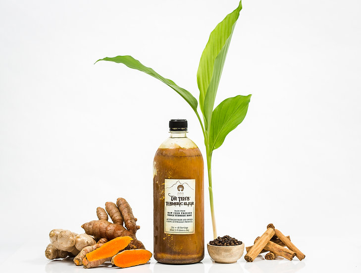2 Litres- Dr Teh's Turmeric Elixir (GST inc)