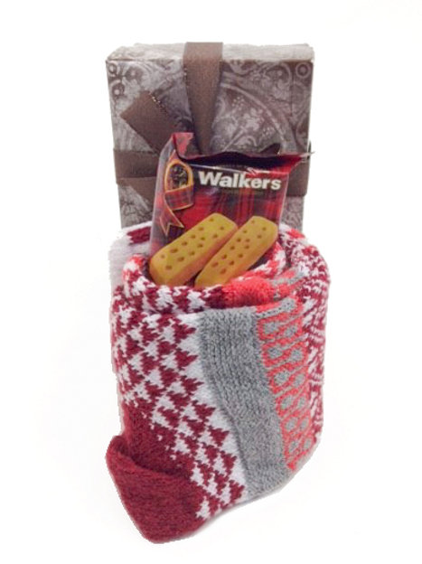 Solemate Socks in a Box Basket