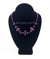 Jewelry 9 Purple Amethyst biwa 16-18_ dr