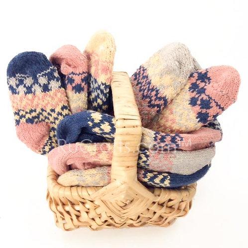 Sibling solemate sock basket
