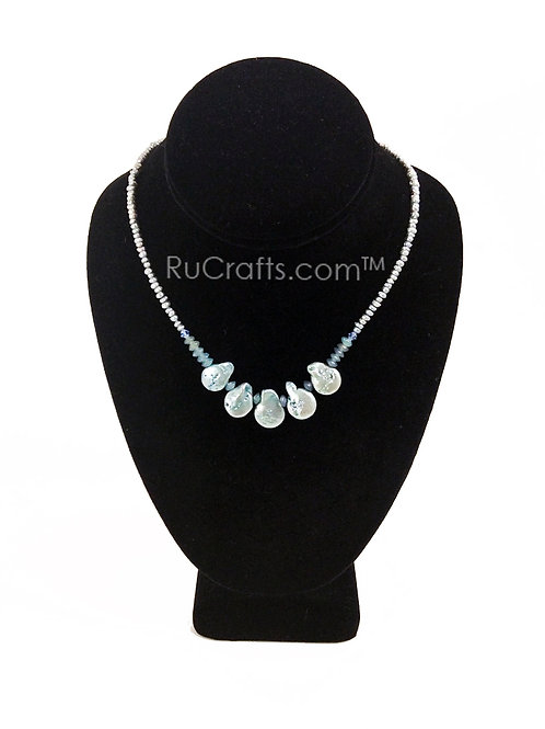 Pearls and Crystal Necklace