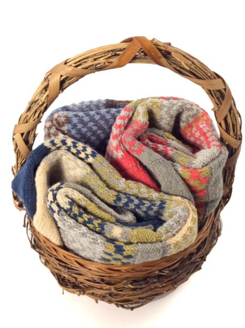 Triple header solemate sock basket
