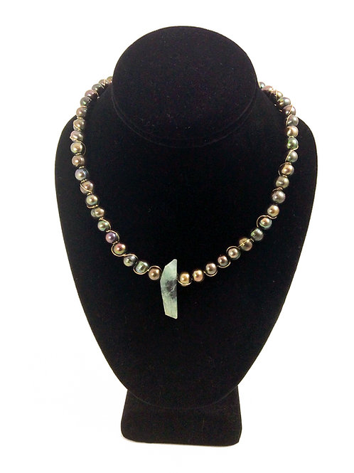 Freshwater Pearl Adjustable Necklace