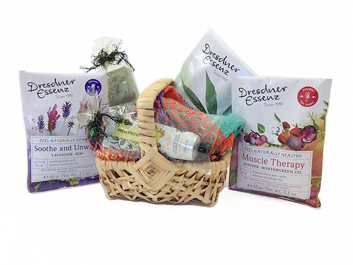 A Solemate Pamper Basket for Her