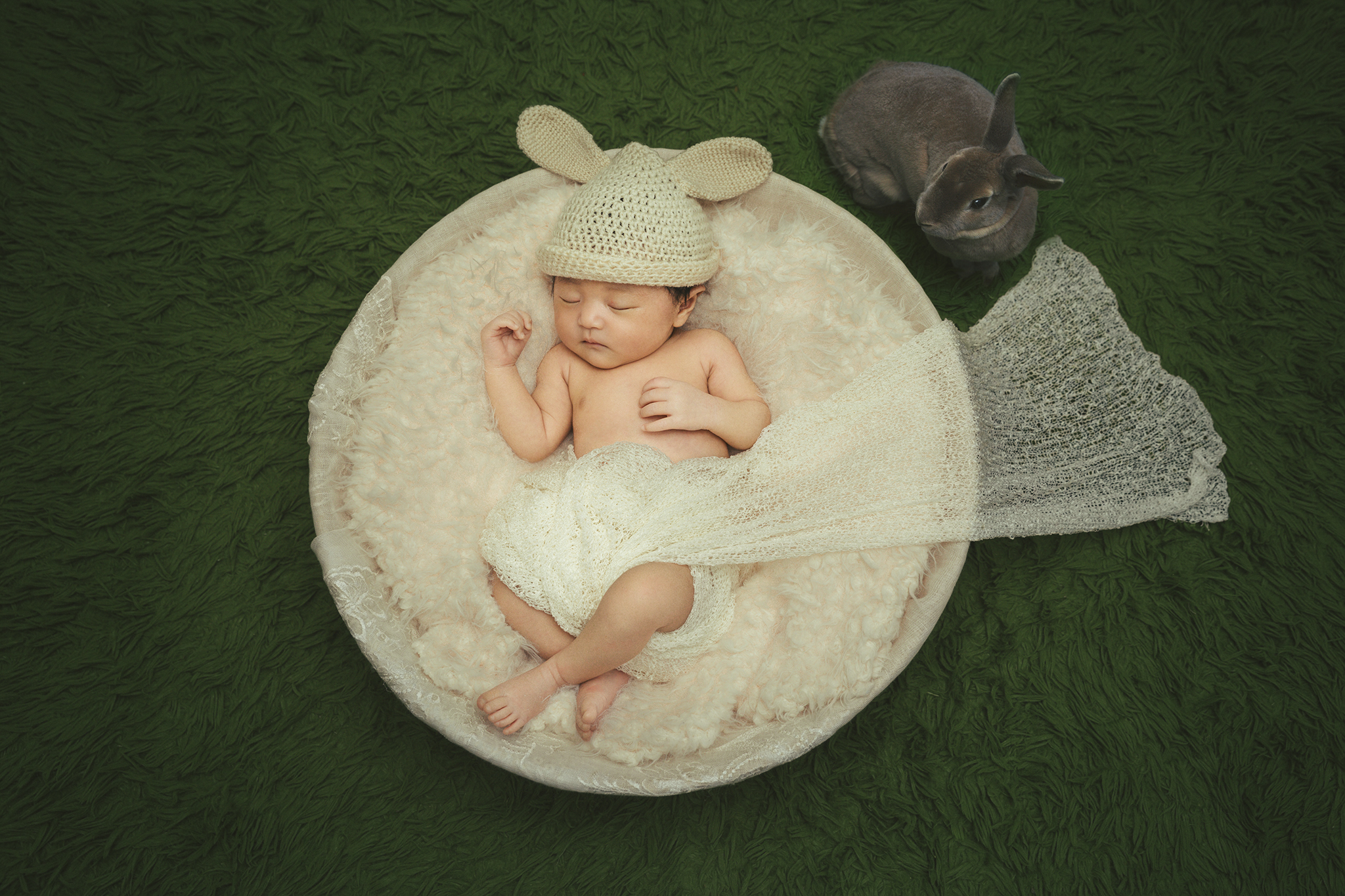 ニューボンフォト新生児写真