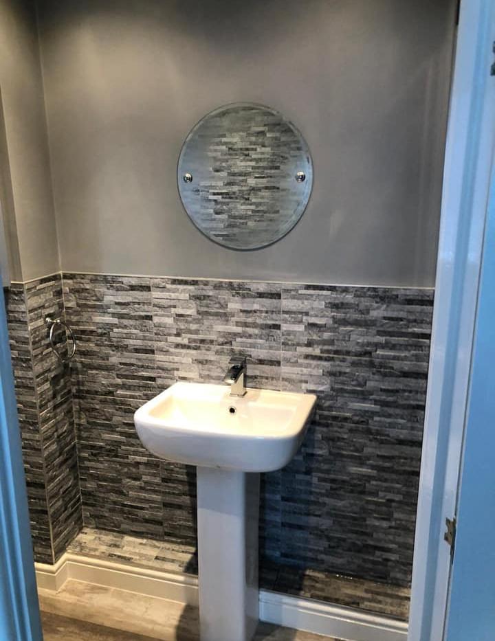 Basin refurbishment