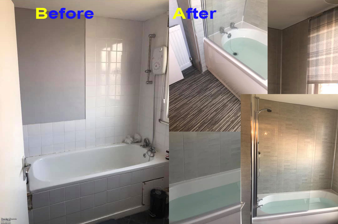 Before & After Bathroom Refurb
