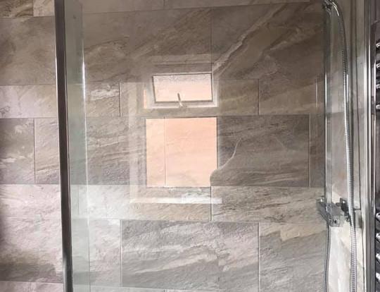 Shower, bath features