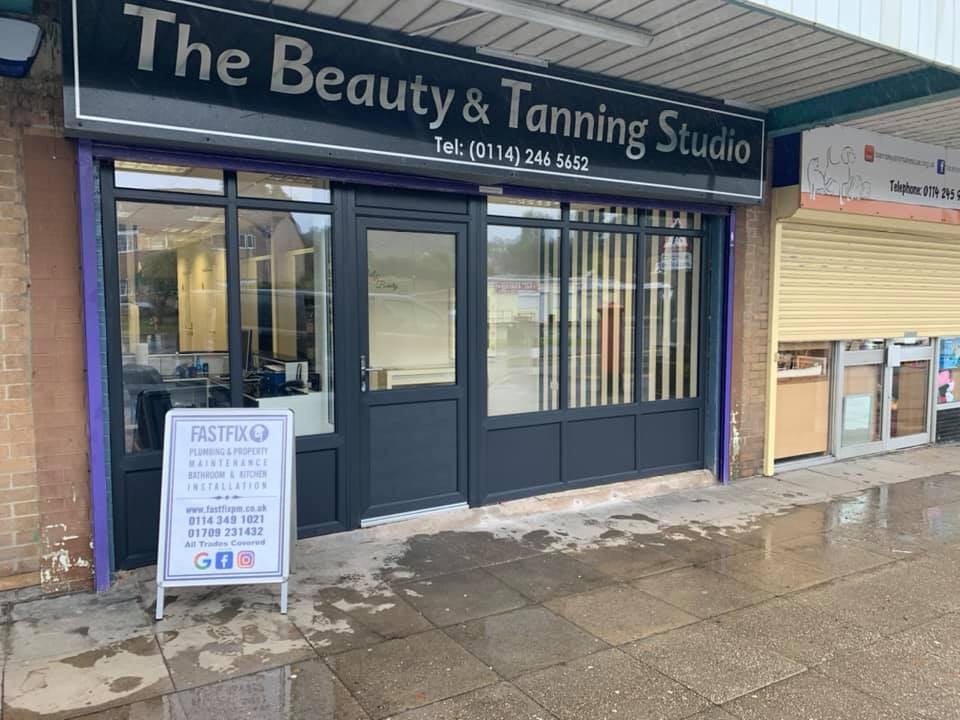 Shop front refurbishment Finished