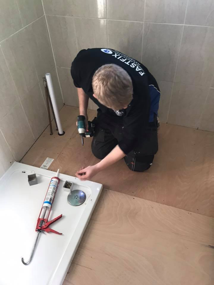 Fixing bathroom
