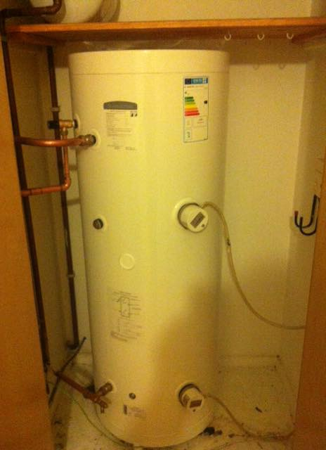 unvented-hotwater-cylinder