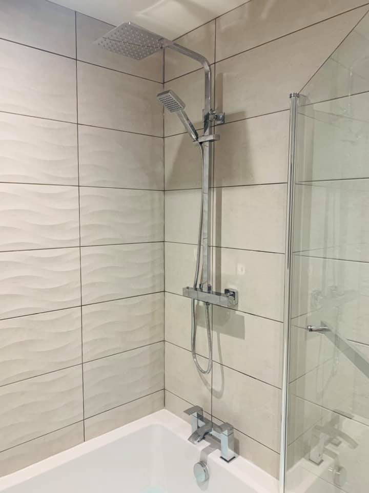 Shower Installed