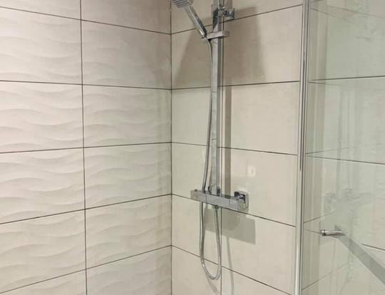 Tiled Shower Area