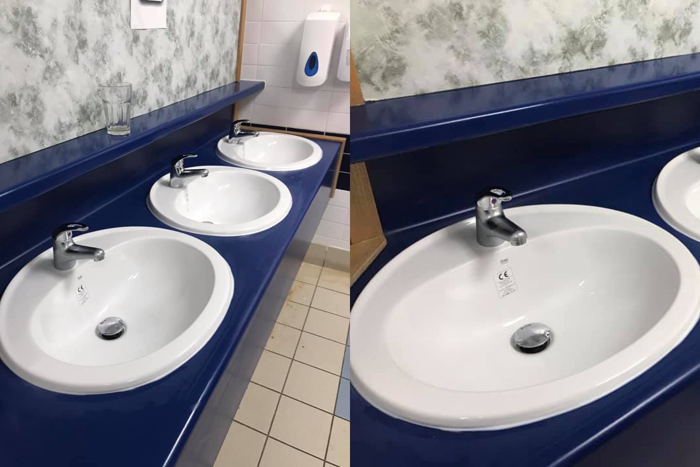 Blue Sinks - New