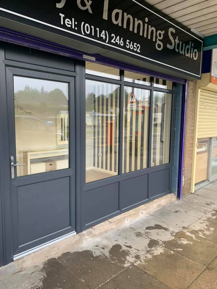 Shop front fitting