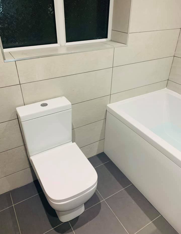 New Modern Bathroom