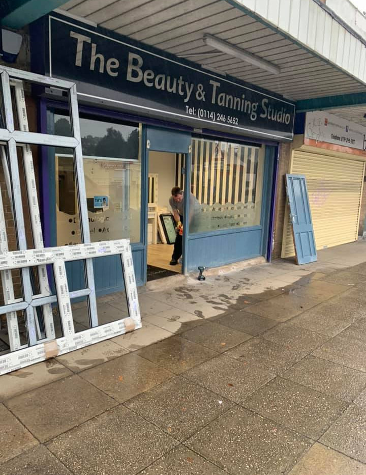 Shop front - work in progress