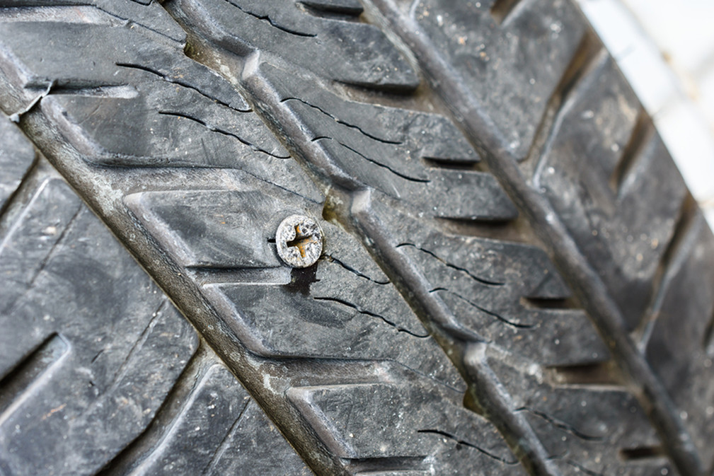 There's A Nail In My Tire