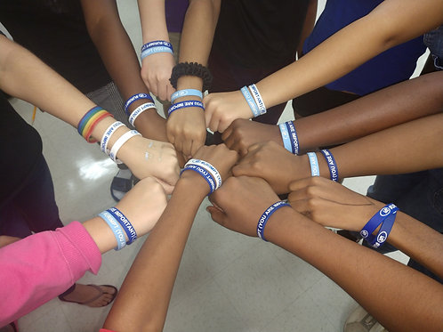 U*R IMPT (You Are Important) Wristbands-14 colors
