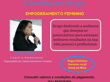Coaching em Grupo para Mulheres