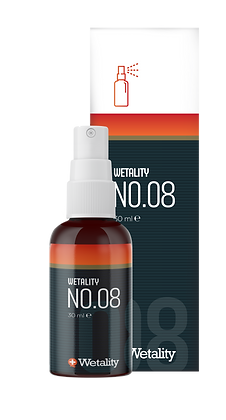 WETALITY NO.08 30 ML CBD SPRAY UDEN THC