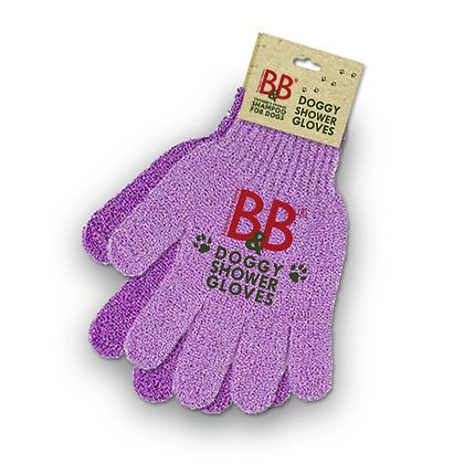 B&B Doggy Shower Gloves